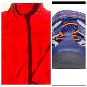 OshKosh Fleece Jacket and Close Toe Sandals Bundle